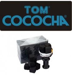 Kokosové uhlíky Tom Cococha Blue Flat 1 kg