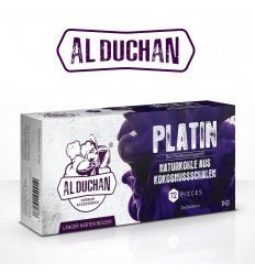 Kokosové uhlíky Al Duchan PLATIN 1 kg