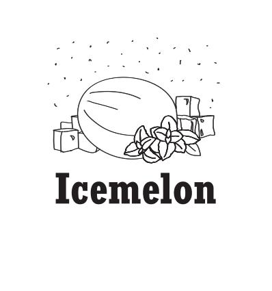 Hookah Cream Icemelon