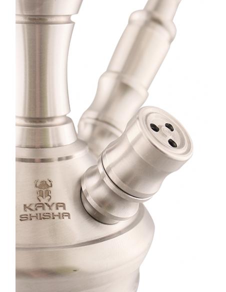 Vodná fajka Kaya Clear INOX 630AR Stellar Cut 2S
