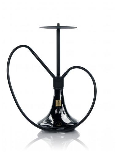Vodná fajka The Steamulation Superior Black Matt